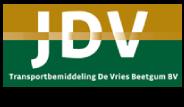 logo hoofdsponsor JDV transport Beetgum